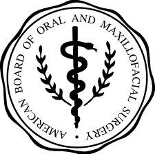Seal of the American Board of Oral and Maxillofacial Surgery