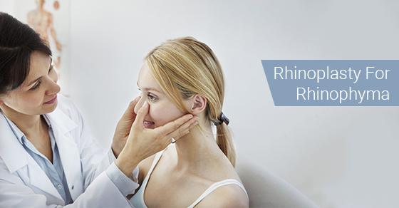 Rhinoplasty For Rhinophyma